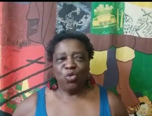 Raquel Aparecida -brasileira- fala sobre o Curso L.A. de Pastoral e Relações de Gênero, no CESEEP.